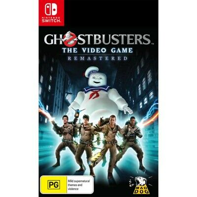 AU36 • Buy Ghostbusters The Video Game Remastered - Nintendo Switch - BRAND NEW