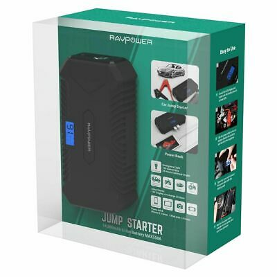 AU149.99 • Buy Ravpower Jump Starter Power Bank 14,000mAh Vehicle Start 12V Engine Battery
