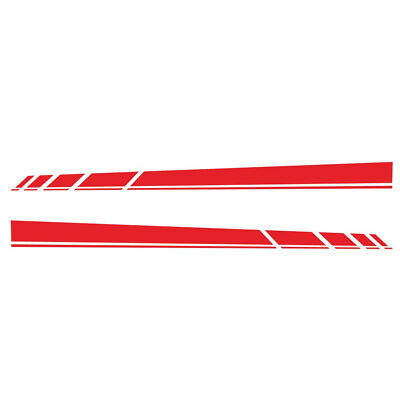 $16.10 • Buy Car Accessories Vinyl Film Long Stripe Graphics Stickers Fit For Body Side Skirt