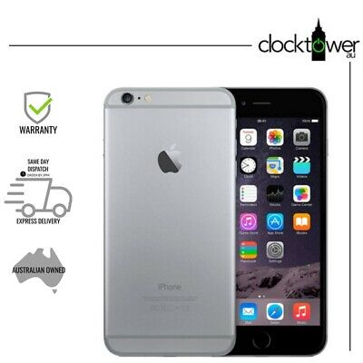 AU279 • Buy Apple IPhone 6 Plus 128GB Space Grey A1524 Unlocked Good Condition NEW BATTERY