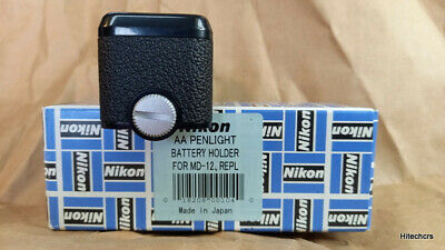 £19 • Buy Nikon MD-12  AA  Battery Holder/Insert Items Are Boxed New, Old Stock.