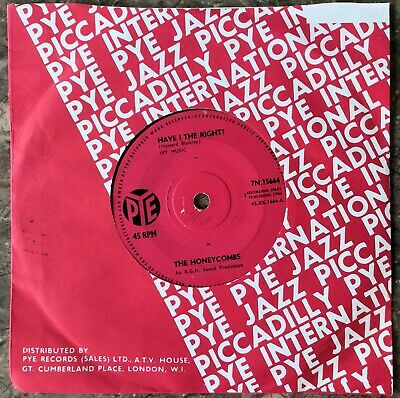 The Honeycombs - Have I The Right • 3.40£