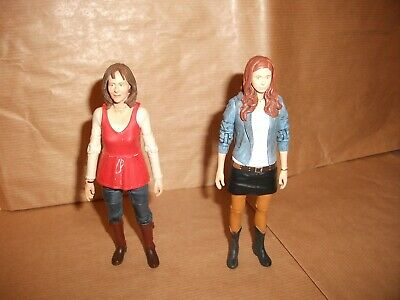 Dr Who 5  Action Figure. , Sarah Jane Smith + Amy Pond • 13.99£
