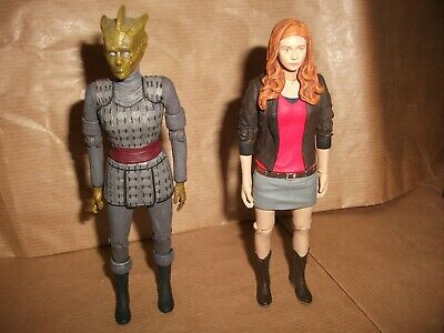Dr Who 5  Action Figure. Amy Pond + Silurian • 12.99£