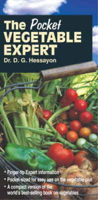 The Pocket Vegetable Expert (Pocket Expert), D.G. Hessayon, Used; Good Book • 3.58£