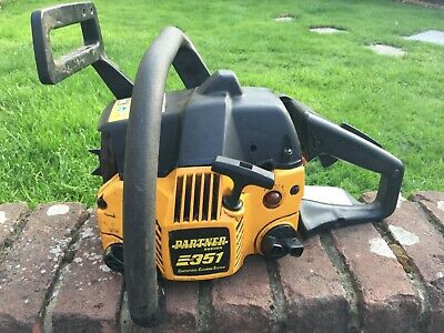 Partner 351 Petrol Chainsaw 2009 Missing Bar  - Listed Not Working For Spares  • 40£