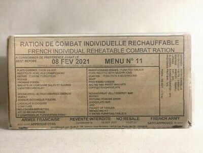 $58.99 • Buy French Mre 24h Fresh, Rcir, Military, Army Ration, Survival, Emergency, Combat