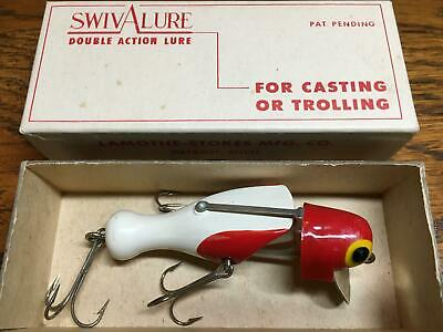 $ CDN74.67 • Buy Antique Vintage SwivALure Fishing Lure--WR10--White/Red--New In The Box--NICE~!