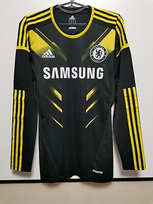 Chelsea 2012-2013 Player Issue Third Football Shirt Jersey Adidas Techfit • 200£