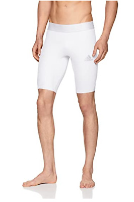 AU49 • Buy BNWT Mens Adidas White ClimaCool Techfit Compression Shorts Size Small