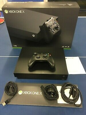 AU330 • Buy Microsoft Xbox One X 1TB Black Console Excellent Condition