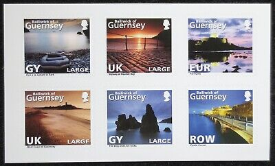 Guernsey - 2010 - Abstract - SG 1327/1332 - MNH Self Adhesive Set  • 1.09£