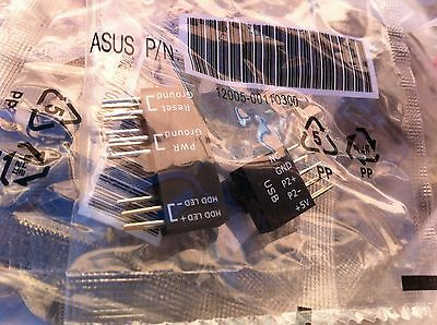£6.36 • Buy  Asus X99 Deluxe  Q Connector   With Usb  ,  Original-black