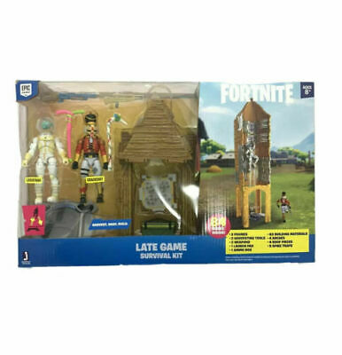 $ CDN53.44 • Buy Fortnite Late Game Survival Kit Playset 84 Pieces Crackshot Liviathan New In Box