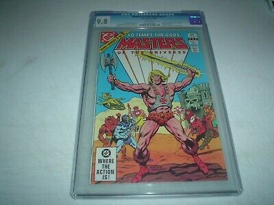 $200 • Buy Masters Of The Universe 1 CGC 9.8 1982 DC TV Movie He-Man Skeletor