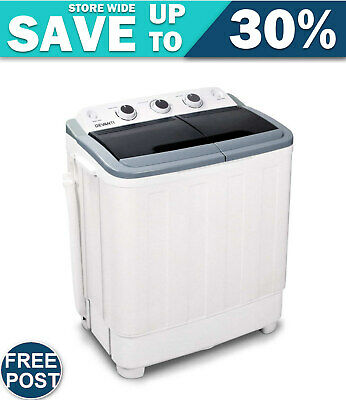 AU172.34 • Buy Devanti 5KG Mini Portable Washing Machine - White