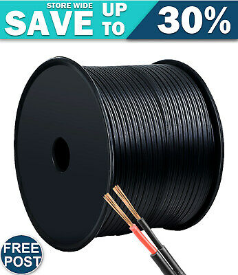AU51.30 • Buy 2.5MM Electrical Cable Twin Core Extension Wire 100M Car Solar Panel 450V