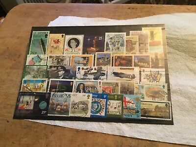 Guernsey Used Stamps Lot • 0.70£