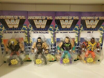 $135 • Buy WWE Masters Of The WWE Universe Wave 4 Complete Set Mr. T Jake The Snake Fiend