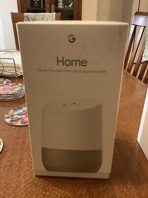 AU52 • Buy Google Home Smart Assistant - White Slate