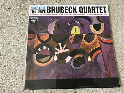 The Dave Brubeck Quartet Time Out Vinyl Jazz Record Sealed • 15£
