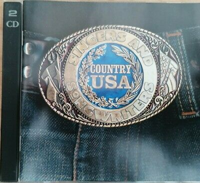 SINGERS AND SONGWRITERS COUNTRY USA - TIME LIFE (2CD). DISCS NEAR MINT. 30 Trks. • 4.99£