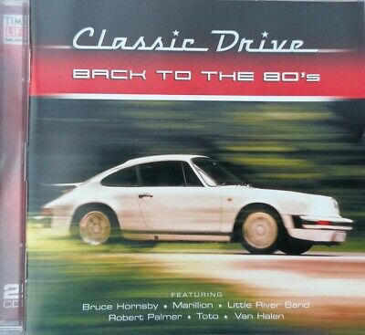BACK TO THE 80'S - TIME LIFE (2CD). DISCS NEAR MINT. 30tracks. • 4.99£