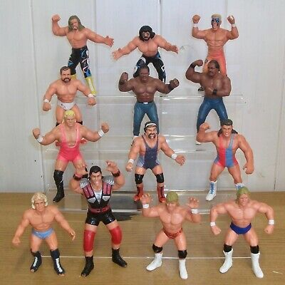 $ CDN34.53 • Buy WCW - Galoob - Wrestling Figures Inc. Sting, Lex Luger, El Gigante & Doom