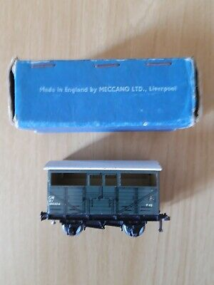 Hornby Dublo 3 Rail D1/32020 Cattle Truck GWR 2 Small Centre Windows - Boxed • 10.99£
