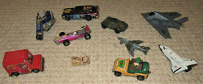 Die Cast Vintage Toy Vehicles Inc Match Box,Lesney,Dinky,ERTL And Hot Wheels. • 5.99£