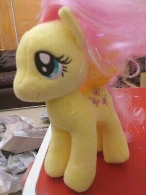 My Little Pony Fluttershy Soft Cuddly 8  Toy See Pics • 4.25£