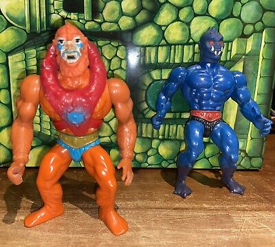 $25 • Buy Masters Of The Universe Beast Man And Webstor 1980's Vintage