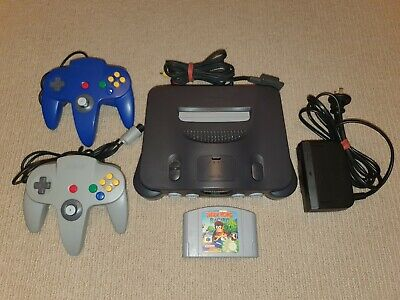 AU399 • Buy Nintendo 64 N64 Console + 2 Controllers + Diddy Kong Racing