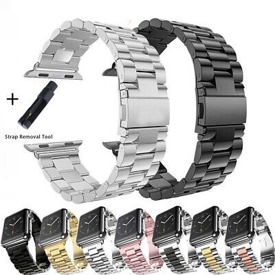 AU13.99 • Buy Watch Band Stainless Steel Strap For Apple Watch IWatch Series 5/4/3/2/6 38-44mm