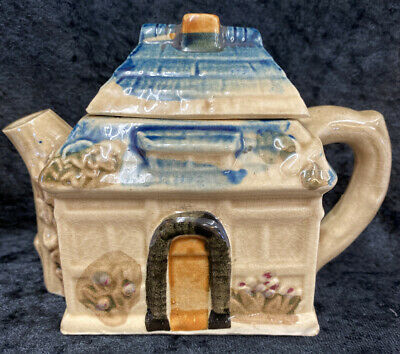 4.5  Made In Japan Unusual Cottage Teapot  (D1) • 4.99£