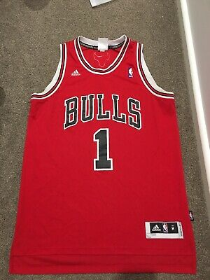 AU49 • Buy Derrick Rose Chicago Bulls NBA Adidas Basketball Jersey Medium