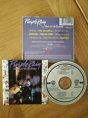 Purple Rain, Prince And The Revolution, Very Good Condition CD FREE POSTAGE • 3.25£