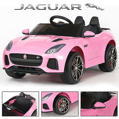 Ride On 12v Officially Licensed Jaguar F-type Electric Battery Remote Kids Car • 119.99£