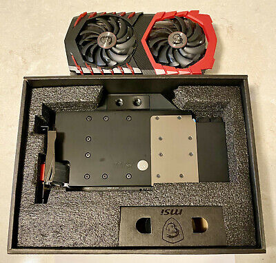 $ CDN400.02 • Buy Watercooled MSI GTX 1080 Ti Gaming X 11 G With EK Waterblock EKWB