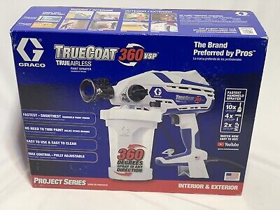 Graco TrueCoat  17D889 360 Vsp Variable Speed Electric Airless Paint Sprayer NEW • 122£