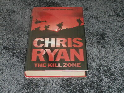 Chris Ryan: The Kill Zone: Signed Uk 1st Edition Hardcover 1/1 • 12.95£