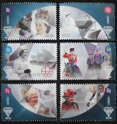 Guernsey - 2012 - Diamond Jubilee - SG 1407/1412 - MNH Set • 1.04£