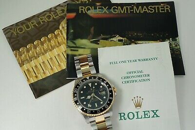 $ CDN15567.89 • Buy Rolex 16713 Gmt Master Ii 18k & Stainless Steel Box, Papers & Books Dates 2000