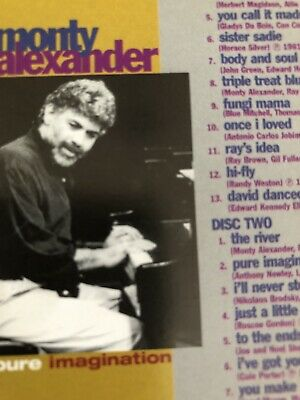 Monty Alexander - Pure Imagination : 2 Disc CD (Jazz) • 7.40£
