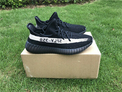 $ CDN240.01 • Buy Fashion Sneakers Adidas Yeezy Boost 350 V2 Black And White Men's Size 8 Free Shi