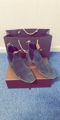 AU5.50 • Buy R.M Williams - Craftmans Suede Leather Boots With Oil Resistant Sole - Size 9 G