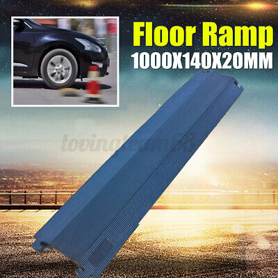 100cm Rubber Vehicle Cable Floor Ramp Cord Surface Cover Protector Outdoor UK • 12.25£