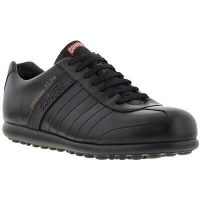 £99.99 • Buy Camper Pelotas XLite Mens Black Leather Lightweight Lace Up Shoes Size UK 7-12