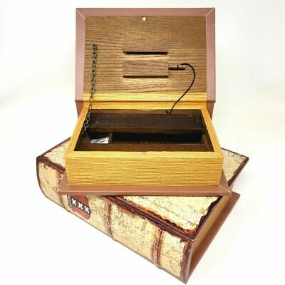 £19.75 • Buy Amsterdam Authentic Old Style Book Stash Rolling Box , Safe Box