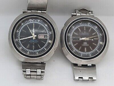 $ CDN134.04 • Buy 2 Vintage Seiko Watch Sports Automatic 6119-6400 Water Resistant 21 Jewels 70m